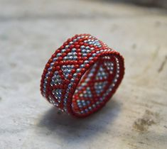 Seed bead ring 12€ by BEhAnDson