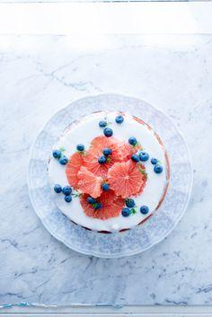 Gluten-free citrus almond cake | La Gallette