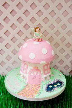 Pink Fairy themed birthday party via Kara's Party Ideas