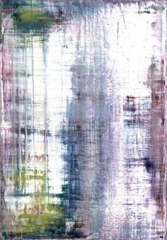 Concept for bathroom.  Gerhard Richter. Heu Straw. 1995  200 cm x 140 cm. Oil on canvas  Catalogue Raisonné: 831-1