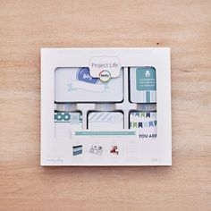 Baby Boy Edition Project Life Core Kit by Becky Higgins