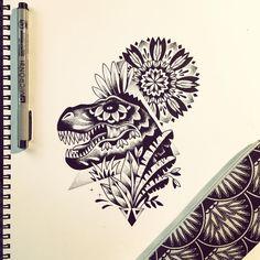 Pour Steve :) @stevetaniou #trex #dinosaurs #geometrictattoo #tattoo #violette #bleunoir #bleunoirtattoo #violettetattoo #dotwork #blackwork #blackworkers #blackworkerssubmission #blacktattoo #blacktattoomag #blacktattooart #btattooing #iblackwork #inkstinctsubmission #equilattera #darkartists