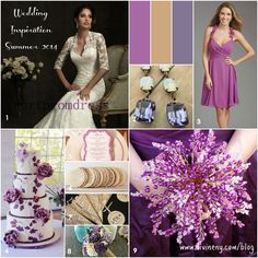 2014 WEDDING COLOR TRENDS | ... wedding dress 2 vintage opal earrings 3 bridesmaid dress 4 wedding