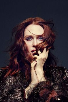 Julianne Moore by Miller Mobley