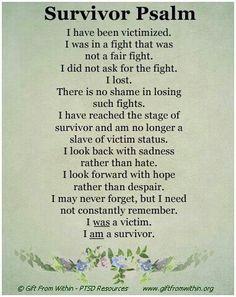 I am a survivor-I am
