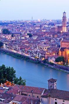 Verona, Italy..home of Romeo  Juliette.