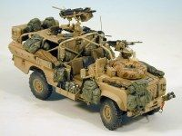Military Models and 1/35 Scale Models by Accurate Armour. SAS Land Rover 110 DPV