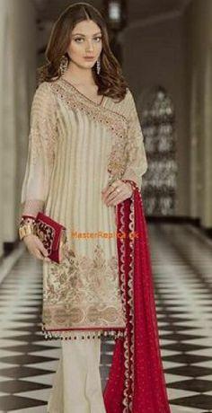 Online Indian and Pakistani dresses, Buy Pakistani shalwar kameez dresses and indian clothing. Pakistani Dresses Online, Pakistani Wedding Dresses, Pakistani Dress Design, Indian Dresses, Indian Outfits, Walima Dress, Shadi Dresses, Red Chiffon, Chiffon Dresses