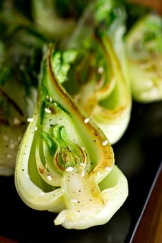 Seared Baby Bok Choy by thecozyapron #Bok_Choy