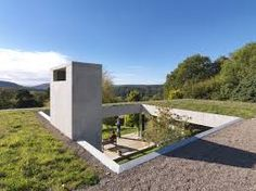Talk about Grand Designs. This home in the Forest of Dean, called Outhouse, could be on the cusp of winning the country's most prestigious architecture award. Called Outhouse, it sits somewhere. British Architecture, Architecture Awards, Architecture Design, Residential Architecture, Contemporary Architecture, Grand Designs Houses, Green Design, Earth Sheltered Homes, Casa Patio