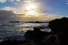 Sunset on the island of Puerto Rico by Javier Art Photography on @creativemarket