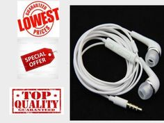 Galaxy Series Earphone J5 For Samsung Mobile, Tab etc white color