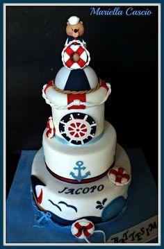 nautical cake Cake by Mariella Cascio
