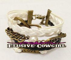 Angel Wing Love Bracelet $4.99