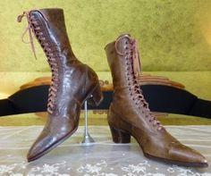 antique victorian shoes