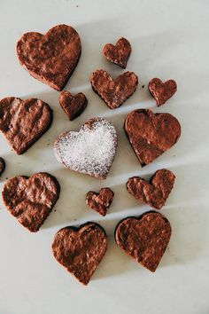 Hummingbird High - A Desserts and Baking Food Blog in San Francisco: Break My Heart Brownies