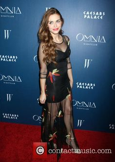 Holland Roden at the grand opening of the Omnia Nightclub