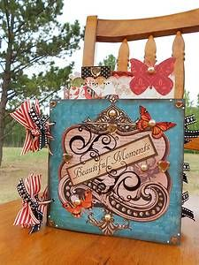 Beautiful Moments Vintage Style Lovely Butterfly Album that I made.