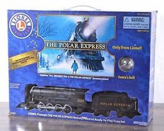 Lionel The Polar Express 4-pc Battery Powered Train Set 32 Track Pieces w/ Bell #lioneltrainsets
