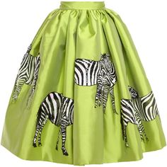 Stella Jean Acqua Mikado Skirt With Hand-Painted Zebras ($2,725) ❤ liked on Polyvore featuring skirts, mini skirts, bottoms, gonne, lime, green sequin skirt, green skirt, green sequin mini skirt, lime green mini skirt and sequin mini skirt