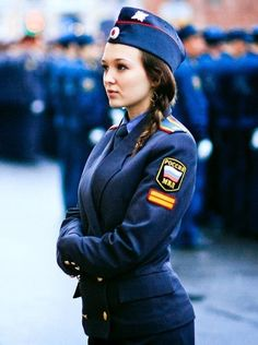 Russian Policewoman