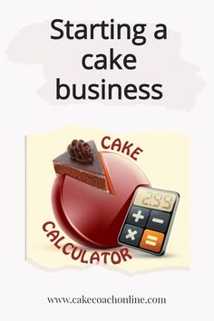 When starting a cake business - one of the very first things to get done, is pricing your creations properly. And that means not only ingredients plus the boxes and boards and all the ribbons and extras. CakeCoachOnline have developed a really useful cake calculator which people rave about. Come and read our blog to see if we can help you too.