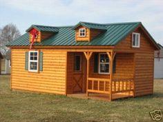 Little house on pinterest for 24x24 cabin kit