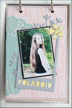 Histoire de cheveux!   MANOUSCRAP Mini Albums, Polaroid Film, Scrapbooking, Image, Ikea Frames, Minis, Hair, Scrapbooks, Extended Play