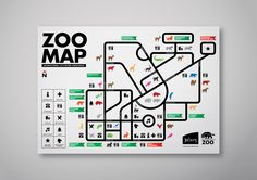 JHB ZOO Infographic by Deft Effect, via Behance