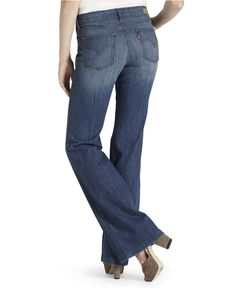 I had a pair of Levis flare jeans a few years ago and wore them until they fell apart. I haven't been able to find them again. I hope these are them