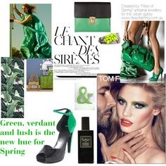 """Spring Greens"" by nikkisg on Polyvore"