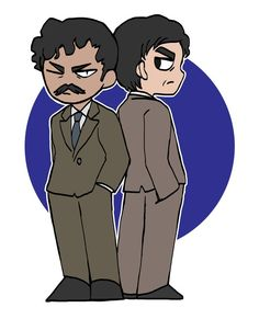 Manga Detective Conan, Greatest Mysteries, Magic Kaito, Case Closed, Gin, Chibi, Police, Anime, Couples