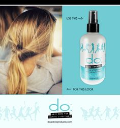 Have an active lifestyle? Protect your hair daily with Core Impact from do. Active Products.