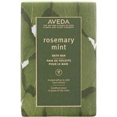 Women's Aveda 'Rosemary Mint' Bath Bar ($18) ❤ liked on Polyvore featuring beauty products, bath & body products, body cleansers, fillers, beauty, green, green fillers, makeup, backgrounds and magazine