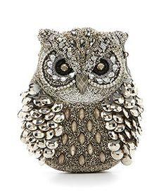 Mary Frances Wisdom Owl Novelty Clutch