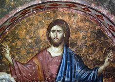 UNESCO World heritage - Christ Pantocrator - monastery Sopoćani, Serbia Byzantine Icons, Byzantine Art, Early Christian, Christian Art, Fresco, Christ Pantocrator, Russian Icons, Christian Friends, Best Icons