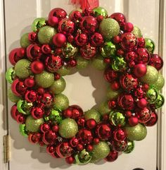 Ornament Wreath by Wreath4TheStars on Etsy
