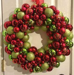 Ornament Wreath by Wreath4TheStars on Etsy