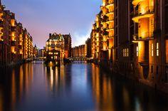 »Speicherstadt Hamburg« by Joerg Piechotka