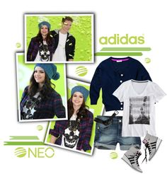 """Rule the adidas NEO Runway with Selena Gomez"" by roxy75 ❤ liked on Polyvore"
