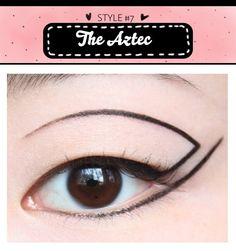 7 Types of Unique Eyeliner Looks - Fashion Find Blog
