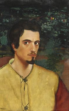 Arik Brauer (Austrian, born Self-portrait (Selbstbildnis), Paris 1963 Oil on canvas Vienna School Of Fantastic Realism, Paris, Visionary Art, Gustav Klimt, Surreal Art, Light In The Dark, Surrealism, Oil On Canvas, Museum
