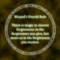 Wizards Rules by Andrew Buckley. Wizard's Rules from the Sword of Truth series. Sword Of Truth, Terry Goodkind, Cool Websites, Be Yourself Quotes, Great Quotes, Forgiveness, Writing, Wizards, Character Inspiration