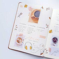 Weekly Spread September / Bullet Journal By Bullet Journal 2019, Weekly Spread, September, Wildlife, Instagram