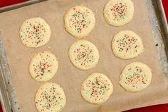 3-Ingredient Sugar Cookies - Delish.com