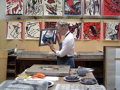 David Lynch at work