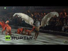 Ceremonia Luciferina en la Inauguración del Túnel de San Gotardo - YouTube