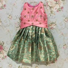 Kids Dress Wear, Kids Gown, Baby Frocks Designs, Kids Frocks Design, Frocks For Girls, Little Girl Dresses, Kids Lehenga, Baby Lehenga, Kids Ethnic Wear