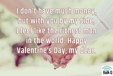 Happy Valentine's Day Wishes for Friends, Lovers, Wife/Husband 2020 Valentines Day Wishes, Wishes For Friends, Rich Man, Husband, Lovers, Romantic, Feelings, Quotes, Quotations