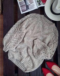 Sweater Knitting Patterns, Knitting Designs, Knit Patterns, Knit Fashion, Fashion Sewing, Fair Isle Knitting, Free Knitting, Mohair Sweater, Baby Sweaters